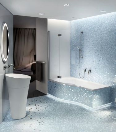 Luft und Licht im fensterlosen Badezimmer - bauemotionde - badezimmer ohne fenster