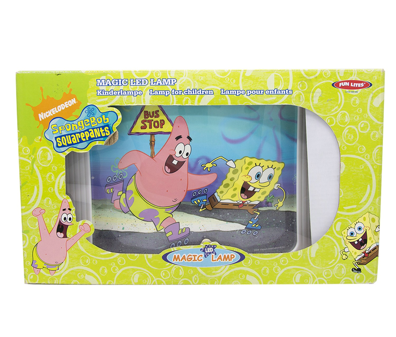 Nickelodeon Spongebob Squarepants Magic Led Lamp Brands For Less