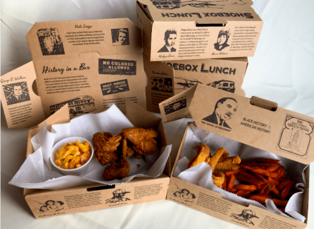 Lunch In A Box Beans Cornbread Is Bringing Back Jim Crow Era Shoebox Lunches