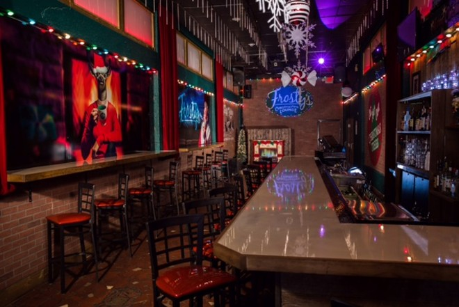 Gothic Fall Wallpaper Frosty S Christmastime Lounge Officially Opens Tonight In