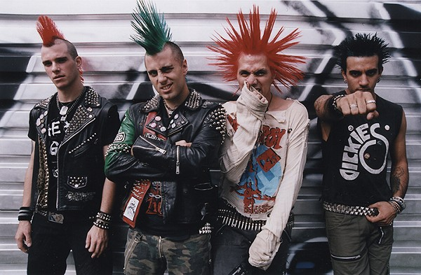 Kleidung 70er Style Nyc Punks The Casualties Play Surf Expo's Afterparty At