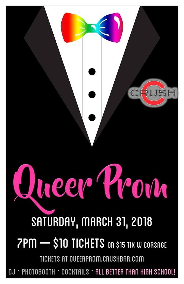 Queer Prom at Crush in Portland, OR on Sat March 31, 7 pm - Portland