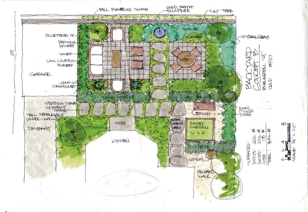 A Burlington Landscape Architect Creates Functional, Sustainable