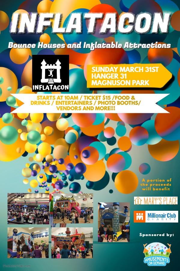 Inflatacon 2019 at Magnuson Park Auditorium in Seattle, WA on Sun