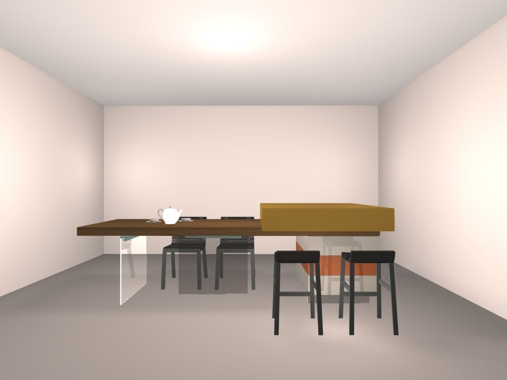 Transformer Un Plan De Travail En Table Ilot Central Table Hauteur Plan De Travail Ou Table 74cm 15