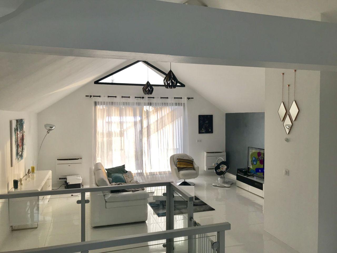 Idée Déco Salon Plafond Cathédrale | Salon Amenagement Salon De Luxe ...