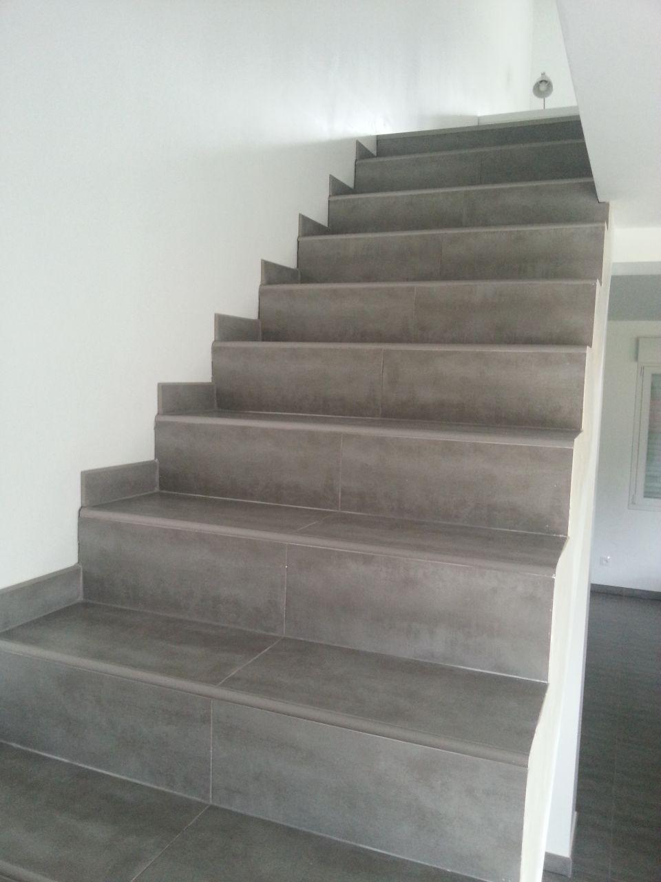 Habiller Un Escalier En Beton Brut Implique Escalier Beton Cire