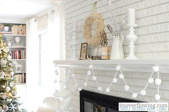 White Christmas theme