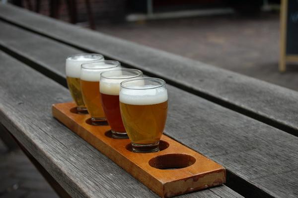Fyra olika ölsorter