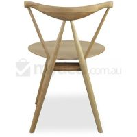 2x Natural Beech Wood Antique Dining Chair Medieval | Buy ...