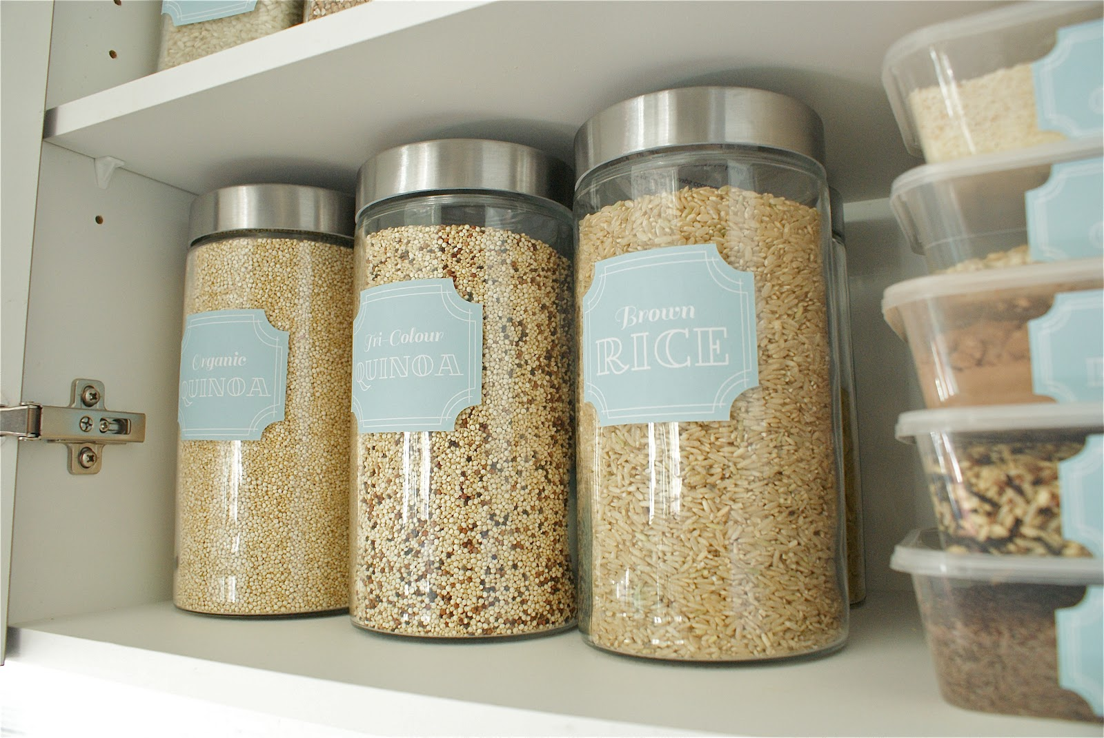 Etiketten Voor Kruidenpotjes Pantry Labels Your Life Organized 10 Free Printables