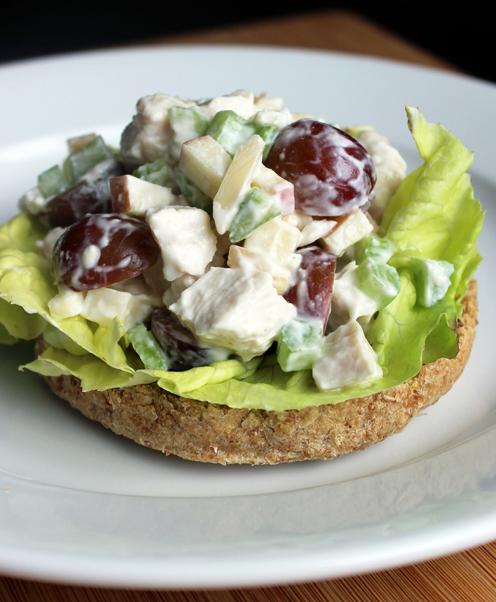 Paleo Arica's Wasabi Secret Salad with Chicken