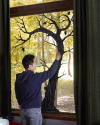 Halloween Decorations For Windows | POPSUGAR Home