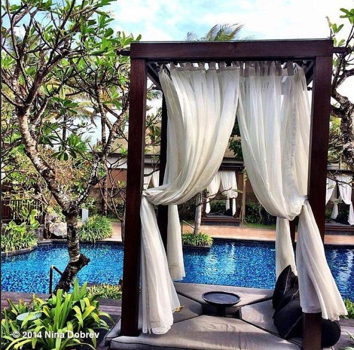 Nina Dobrev got away to Bali.<br /> Source: Instagram user ninadobrev<br />