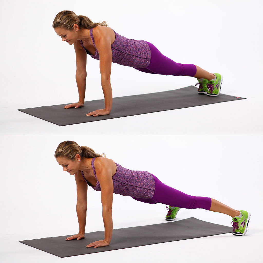 Jumping Fitness Plank Jacks Tone Your Entire Body With This 1 Move