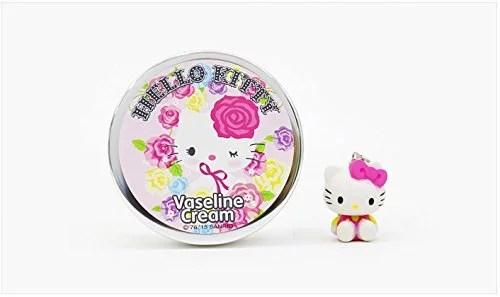Hello Kitty Vaseline Cream And Free Key Holder Hello
