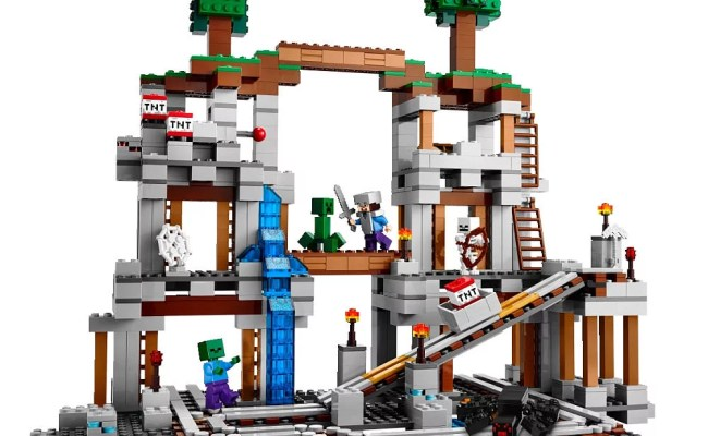 For 9 Year Olds Lego Minecraft The Mine Best Toys For