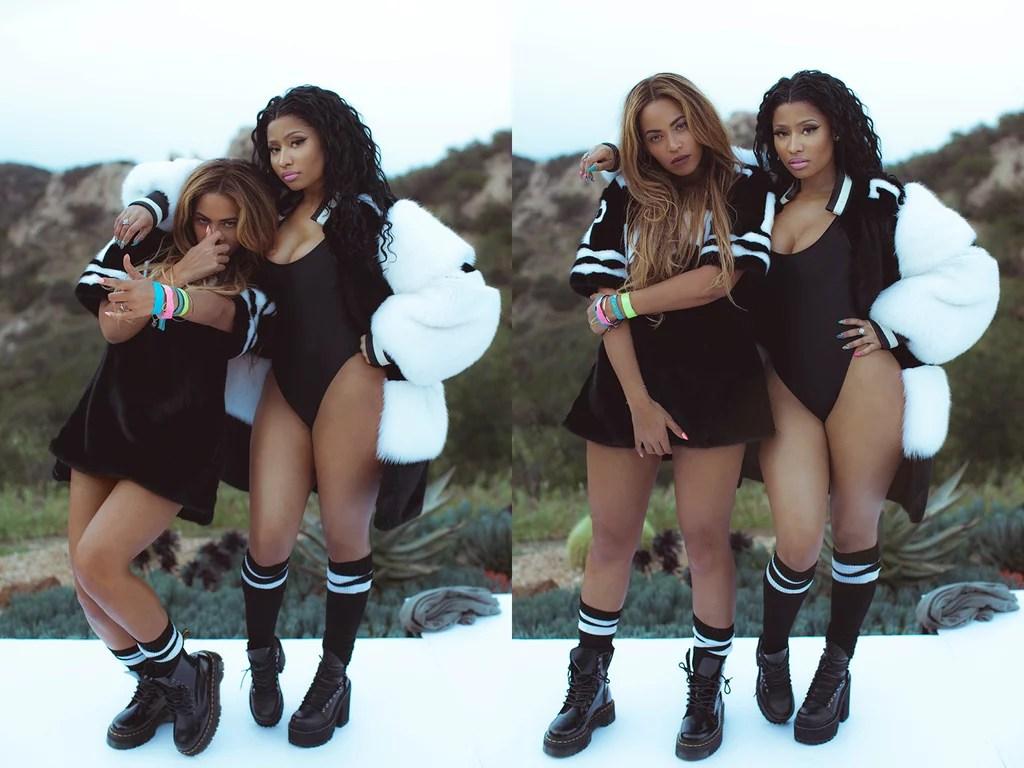 Kehlani Wallpaper Iphone Beyonce And Nicki Minaj Quot Feeling Myself Quot Pictures