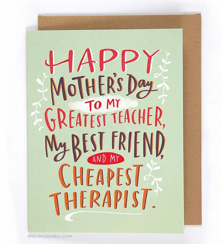 Alternative Mother\u0027s Day Cards POPSUGAR Moms Photo 11