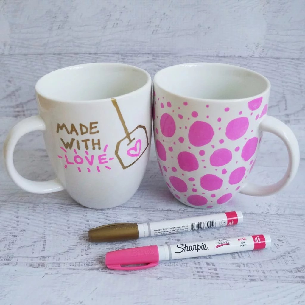 Mug A Cafe Sharpie Mug Diy Project Popsugar Smart Living