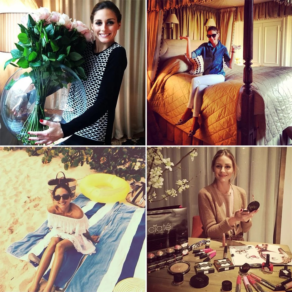 Olivia Palermo Apartment Decor Olivia Palermo S Best Home Style Moments On Instagram Popsugar Home