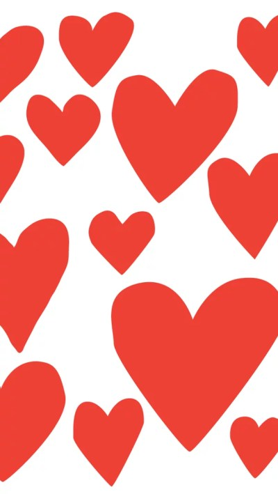 Red Hearts | Cute iPhone 6 Wallpaper | POPSUGAR Australia Tech Photo 19