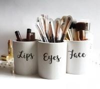 Cute Makeup Brush Holder   Saubhaya Makeup