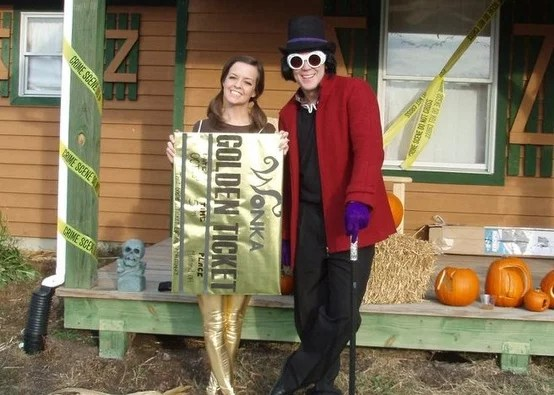Willy Wonka And The Golden Ticket Halloween Couples