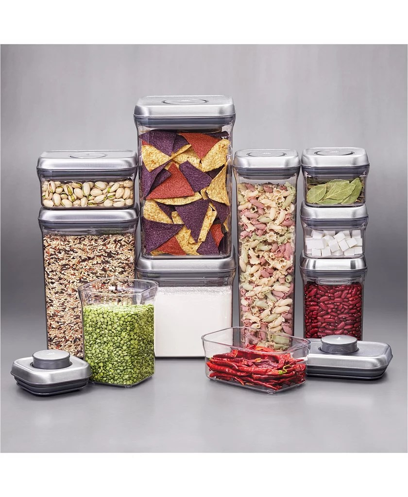 Oxo 10 Pc Pop Container Set Running Out Of Space These 31 Organizing Products Will Help You Get It Together Popsugar Home Photo 6