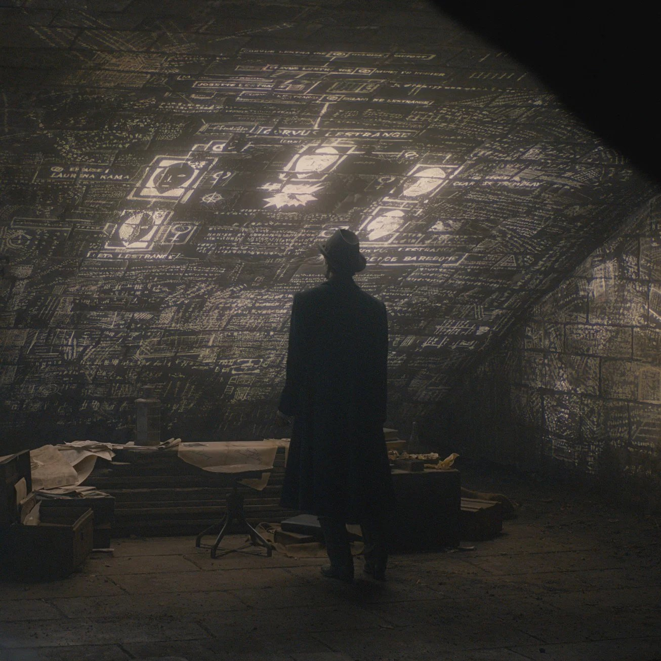 Wall Art Credence Is Credence Related To Leta Lestrange In Fantastic Beasts