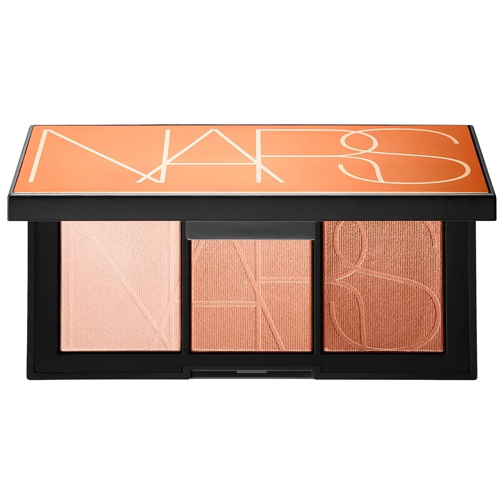Banc Palette Nars Banc De Sable Highlighter Palette Summer Makeup Palettes