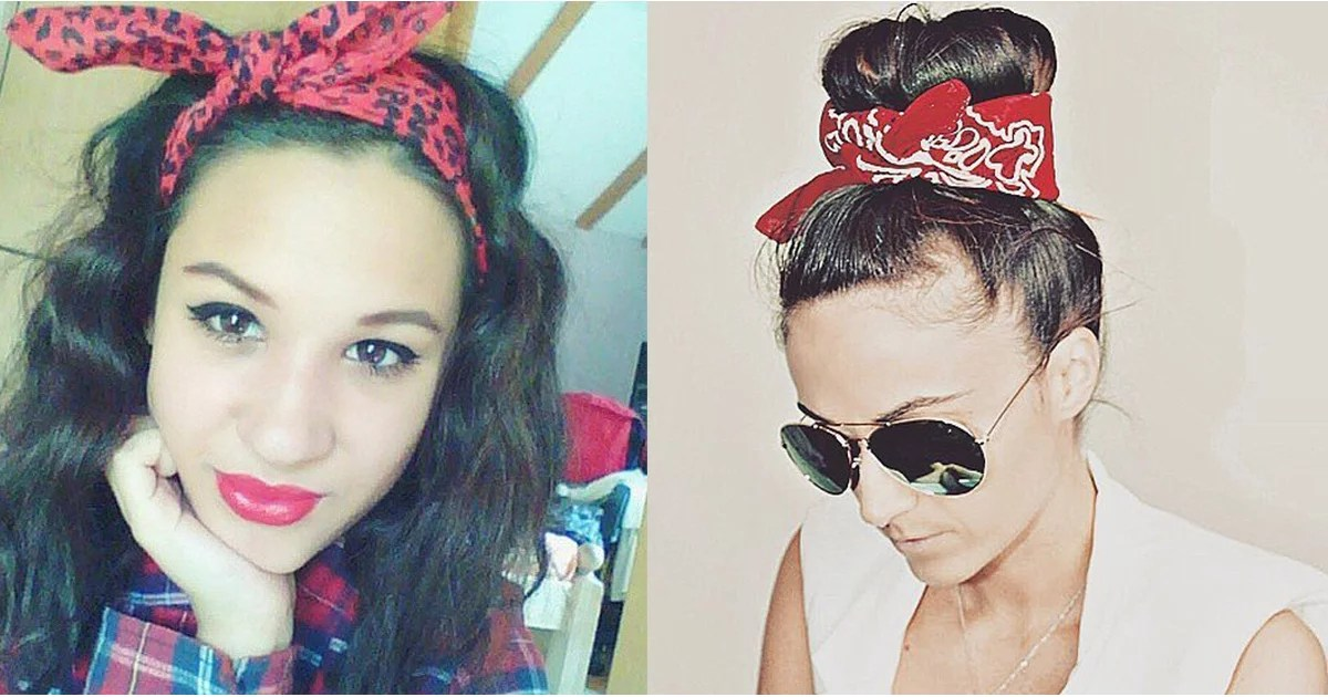 How To Wear A Bandana In Your Hair Popsugar Beauty