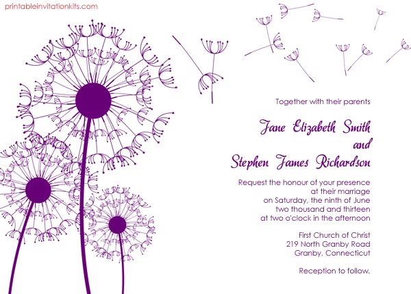 Free Printable Wedding Invitations POPSUGAR Smart Living - free download invitation templates
