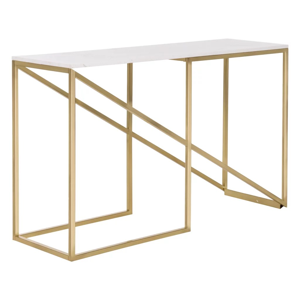 Freedom Console Table Freedom Nook Console Table 799 Shop Best Spring Home Trends