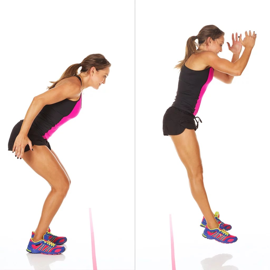 Jumping Fitness Forward And Backward Jumps 60 Minute Circuit Workout