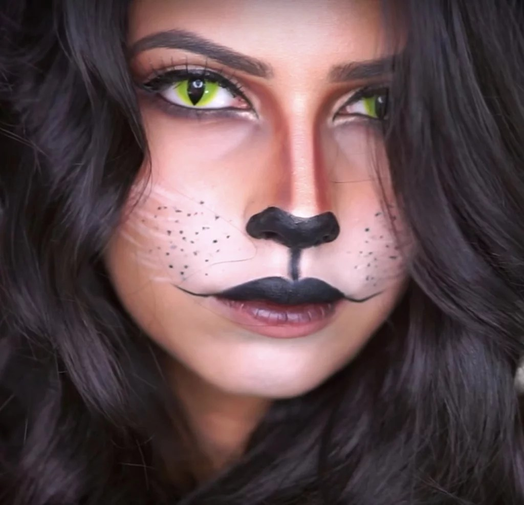 Halloween Make Up Anleitung Cat Halloween Makeup Popsugar Beauty Australia