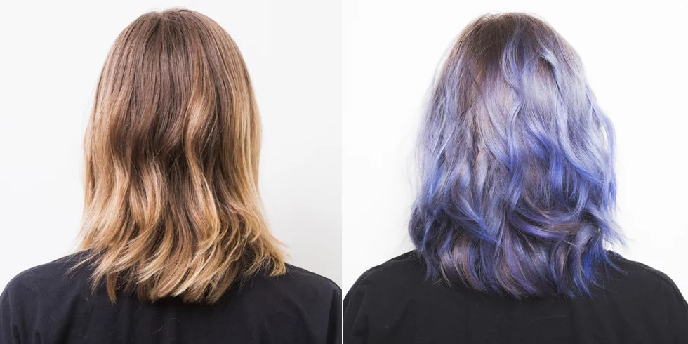 Ombre Hair Technique Step By Step How To Colour Your Hair Purple Popsugar Beauty Australia