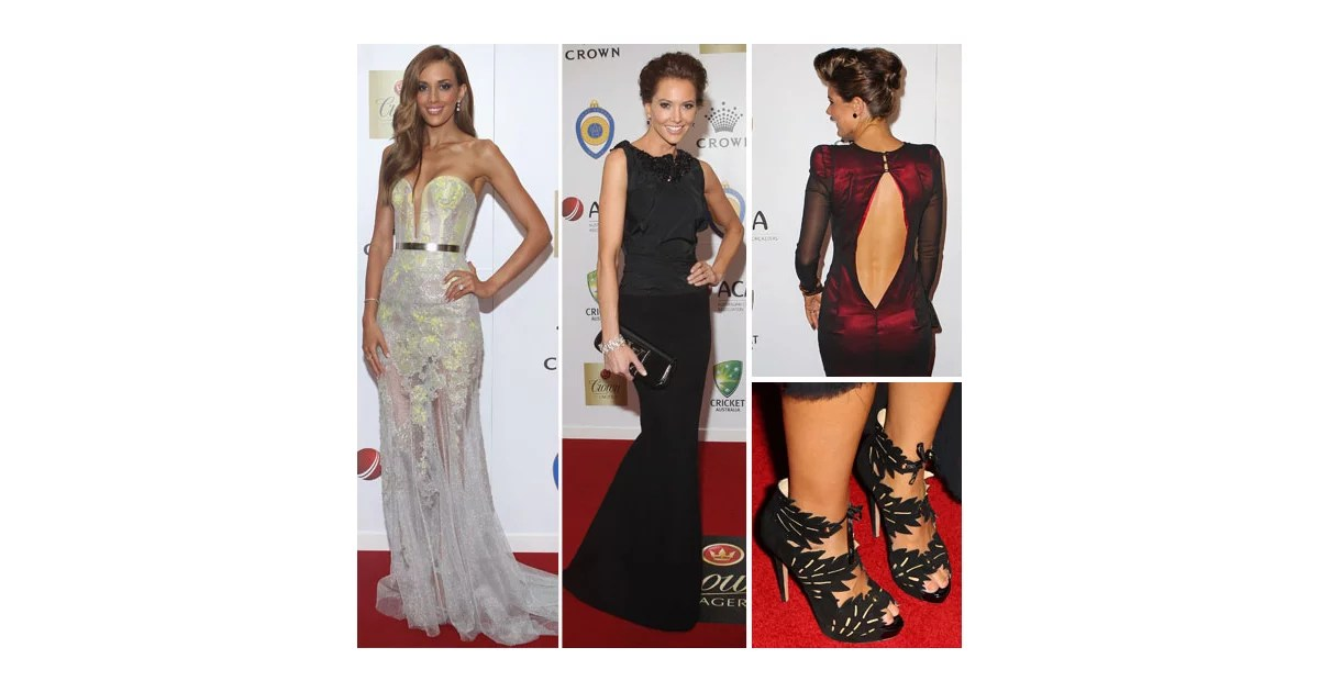 Red Carpet Pictures From The 2012 Allan Border Medal