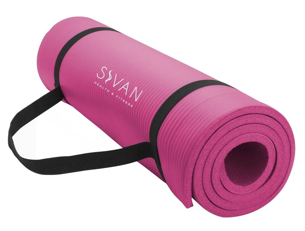 Amazon Yogamatte Sivan Health And Fitness Extra Thick Yoga Mat Best Yoga Mats On