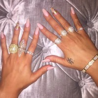 Khlo Kardashian's Nails | POPSUGAR Beauty Photo 9