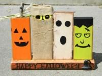 Wooden Halloween Decoration   Cute Kid-Friendly Halloween ...