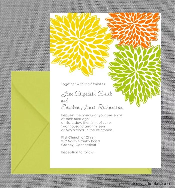 Free Printable Wedding Invitations POPSUGAR Smart Living - invitations templates