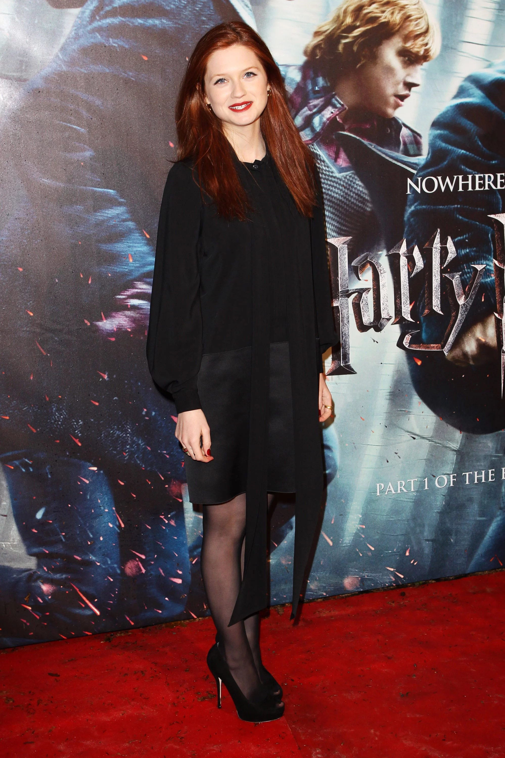 Bonnie Wright Roter Teppich Gallery Of Pictures From The World Premiere Of Harry