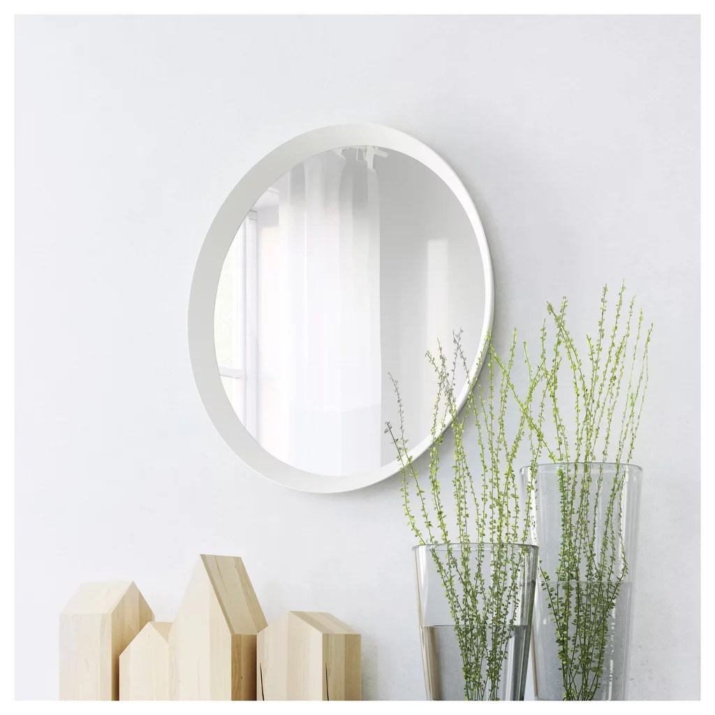 Ikea Wall Mirror Round Wall Mirror Best Ikea Bedroom Products Popsugar Home