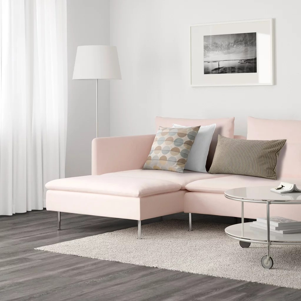 Sofa Soderhamn Ikea Ikea Söderhamn Sectional Best Pink Couches Popsugar Home Photo 4