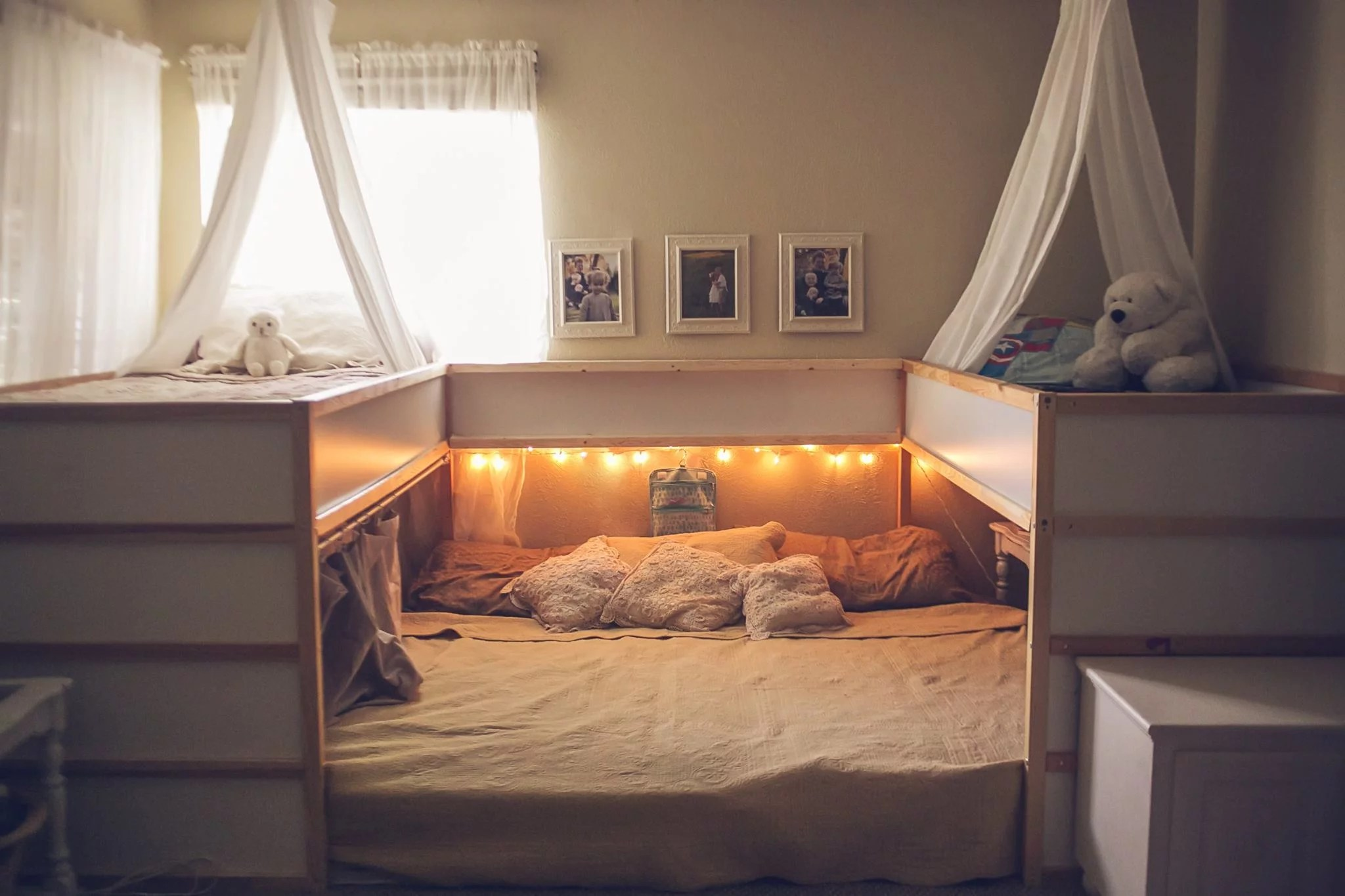 Ikea Super King Mattress Ikea Bed Hack For Families Who Cosleep Popsugar Family