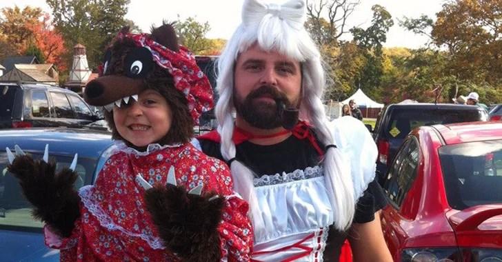Cute Dad And Daughter Halloween Costume Ideas Popsugar Moms