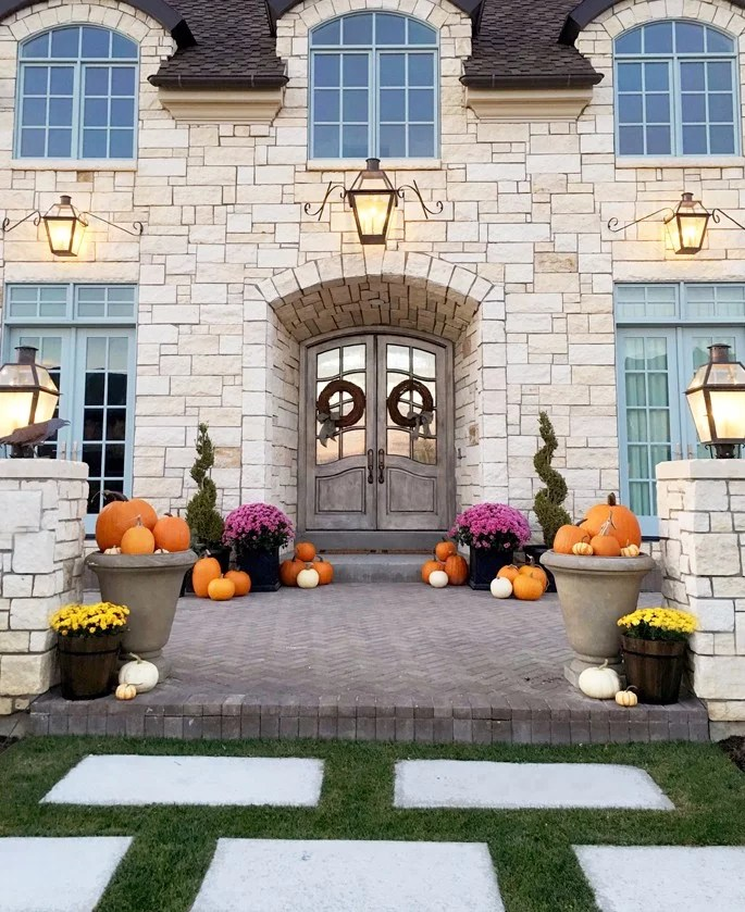 How To Decorate Your Front Porch How To Decorate Your Front Porch For Fall | Popsugar Home