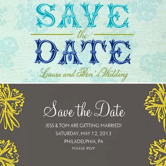 Wedding Save the Date Ecards POPSUGAR Tech - rsvp e cards
