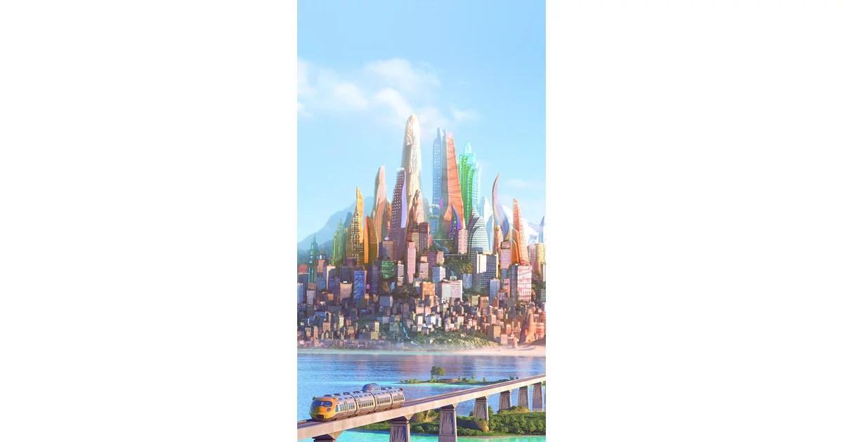 Trending Wallpapers For Iphone X Zootopia City Disney Iphone Wallpapers Popsugar Tech